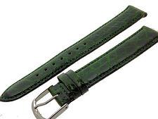 # l015 # Orologi braccialetto pelle di coccodrillo bracelet Alligator Leather 18 mm