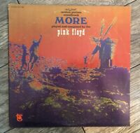 "Pink Floyd Vinyl LP Soundtrack From The Film ""MORE"" ST-5169 Tower Records 1969"