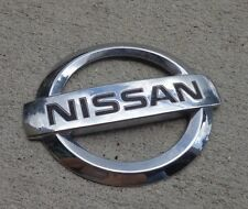 Nissan Altima trunk emblem badge decal logo rear OEM Genuine Rogue Murano Versa