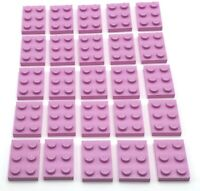 """2x2 Plates 50 NEW LEGO Bright Red 3022//302221 /""""Red/"""""""