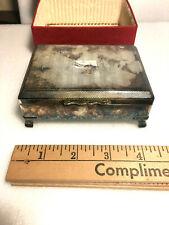 ARISTOCRAT SP Cigarette Box Vintage England Hallmarked
