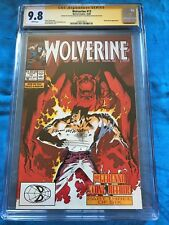 Wolverine #13 - Marvel - CGC SS 9.8 NM/MT - Signed by Peter David, Kevin Nowlan