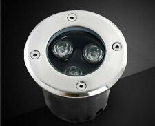 5 x DC12V 3w LED Spot Encastrable Exterieur Jardin Spot en Terrasse Blanc chaud
