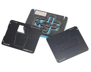 ➡️ Qianli 3in1 Middle Frame Reballing Schablone Stencil für iPhone 11 Pro MAX ⬅️