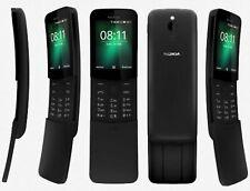 """NOKIA 8110 2.45"""" ITALIA Dual SIM Smartphone Android 4G BLACK NERO"""