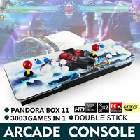 NEWEST! Pandora's Box 11S 3003 Games 3D + 2D Games in 1 Home Arcade Console HDMI