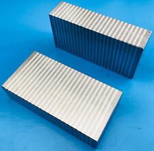 "Pair of Magnetic Chuck Blocks Laminated 4 x 2 x 1"""