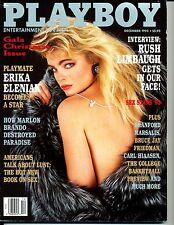 """PLAYBOY""  (SEX STARS '93)  ~ DECEMBER 1993 ~  *** SPECIAL X-MAS ISSUE ***"