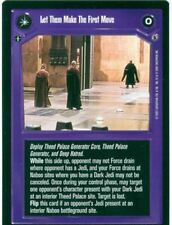 Star Wars CCG Reflections III 3 Premium Let Them Make The First Move / At..