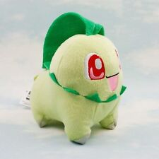 Pokemon Plush Toys 14cm Chikorita Soft Animal Toy Figure Collectible Doll