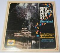 Pepsi-Cola Company - New Year's Eve at Disneyland LP Promo BROADCAST Timing Copy