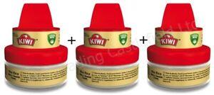 3 x Kiwi Wax Rich Shine & Nourish Cream 50ml - Neutral - New & Unused