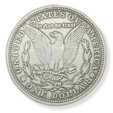Silver Morgan Eagle Dollar Concho - Screwback Leather Factory Tandy 1375inch