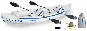 New Sea Eagle 370 Inflatable Pro Kayak Package