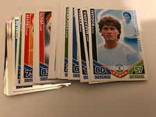 Completo Set Completo todos 297 World Cup 2010 Match Attax Inglaterra Tarjetas 10