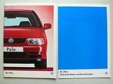 Prospekt Volkswagen VW Polo, 11.1997, 60 S. + technische Daten/Ausstattungen