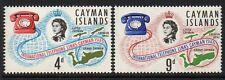 CAYMAN ISLANDS SG198/9 1966 TELEPHONE LINKS MNH