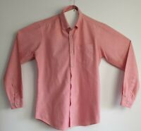 Connor Men's Pink Long Sleeve Shirt Size S