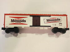 Lionel Trains Mounds Dark Chocolate Reefer Car Item #9886 Nice
