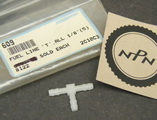 NOS Marshall Snowmobile Fuel Line T Fitting 1/8' (Qty of 1) 609 , 8122 , 2C10C3