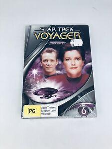 STAR TREK Voyager Season 6  DVD Region 4 NEW SEALED RARE