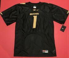 Nike University of Missouri Tigers MIZZOU Replica Jersey Youth Black NWT