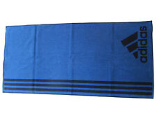 adidas Handtuch Sport Towel S Blau CV4018 100cm x 50cm neu