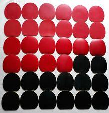 SET 36 USED RUBBERS GEWO (III) PROFESSIONAL TABLE TENNIS !