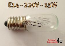 Sewing Machine Light BULB- E14, 220V, 15W - Use for Fridge, Microwave & Others