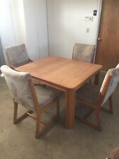 5 Piece Wood Kitchen Table and Chairs
