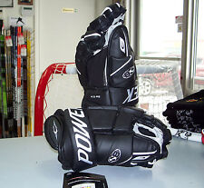 Powertek S8 Ice Hockey Gloves, Black, Size Senior 13""