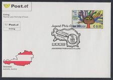 Österreich Austria 2003 FDC Mi.2447 Briefmarkenausstelllung Zeichnung [af105]