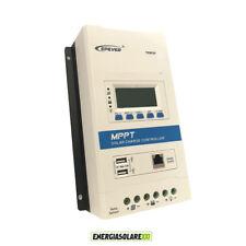 Regolatore di carica MPPT TRIRON4210N 40A 12V 24V batteria litio DISPLAY USB