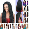 Long Crochet Braid Synthetic Wig For Black Women Full Head Wigs NEW