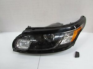 2014-2017 RANGE ROVER SPORT OEM LEFT XENON HID HEADLIGHT W/ AFS & BLACK TRIM