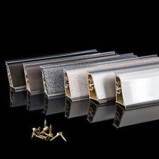 Abschlussleisten 37mm Arbeitsplatte Tischplatten 1,5m - 2,5m Küche Winkelleisten