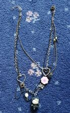 Hello Kitty Necklace by Sanrio Japan Kawaii Rare Cat costume cosplay