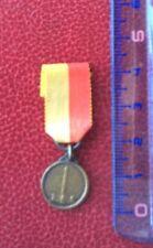 Belgique -Superbe Miniature de la Médaille de Liège  1914 - WWI
