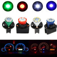 12 pcs T10 round Cluster Instrument Panel Dash Gauge LED Light Bulbs four color