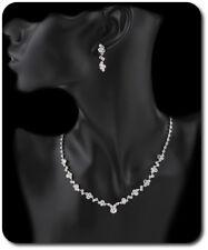 Neue Stylische Brautschmuck Set Weihnachtsgeschenk Halskette Ohrringe Ss29 Brautschmuck Braut-accessoires