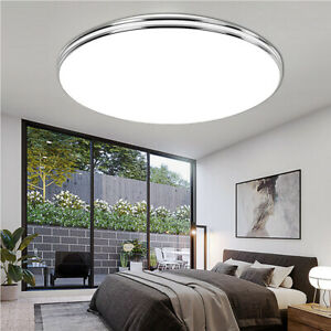 LED Ceiling Lamp Modern Panel Light Living Room Flush Mount 18W 24W 36W 72W C38