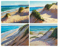 4 x LARGE PLACEMATS (360x290mm) - AUSTRALIAN MADE - SEASCAPES / BEACH