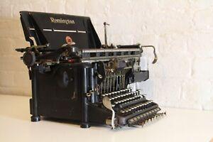 Large Antique Remington Typewriter - Working Antique Condition!