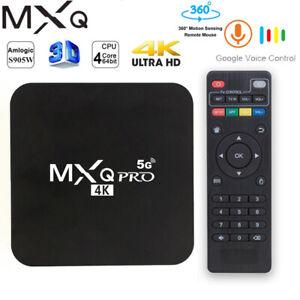 MXQ PRO 4K 2020 Android TV Box RK3228 Amlogic 4G 64G HD 3D 2.4G WIFI Set Top Hb