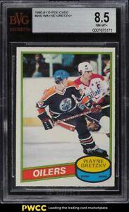 1980 O-Pee-Chee Hockey Wayne Gretzky #250 BGS 8.5 NM-MT+