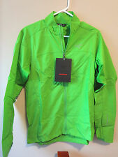 Mens New Arcteryx Incendo Jacket Running Cycling Size Small Color Ginko Leaf