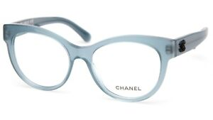 NEW CHANEL 3348 c.1573 EYEGLASSES GLASSES FRAME 53-17-140 B47mm Italy