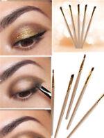 2pcs/Set Eyebrow Inclined Flat Angled Brush Eyeliner Eyeshadow Eye Brow Makeup