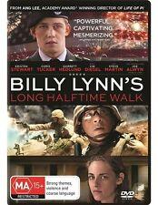 Billy Lynn's Long Halftime Walk (DVD, 2017) K Stewart C Tucker J Alwyn LIKE NEW