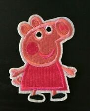 peppa pig Cartoon embroidery patch SEW on/IRON on NEW  2.5
